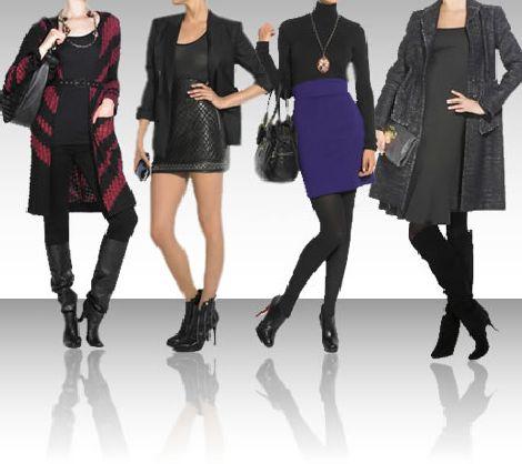 botas com vestidos meias adequadas Inverno 2011, Dicas Para Usar Vestido Com Bota