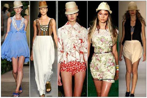 chapeu1  Chapéus Femininos Moda Verão 2011