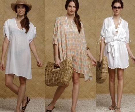 moda verão 2011 saidas de praia