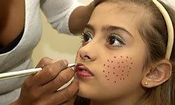 Maquiagem Infantil 1 Festa Junina Infantil, Maquiagem