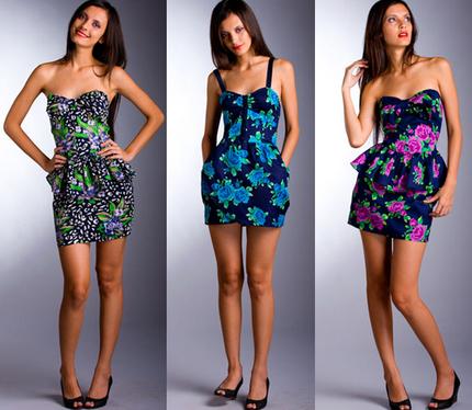 Vestidos Florais 6 Vestido de Verão Florido