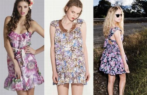 Vestidos Florais 8 Vestido de Verão Florido