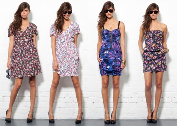 Vestidos Florais Vestido de Verão Florido