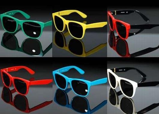 7b023df4d óculos coloridos rayban Óculos Coloridos da Moda2 Óculos Coloridos da Moda