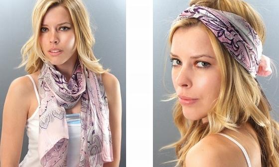 Lenços Moda Verão 2012 3 Lenços, Moda Verão 2012