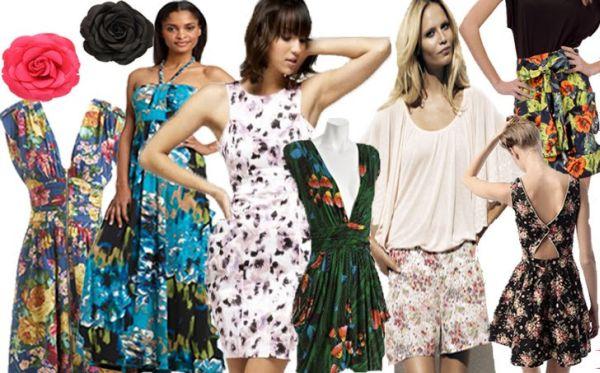 Roupas com Estampa Floral na Moda Verão 2012 33 Roupas com Estampa Floral na Moda Verão 2012