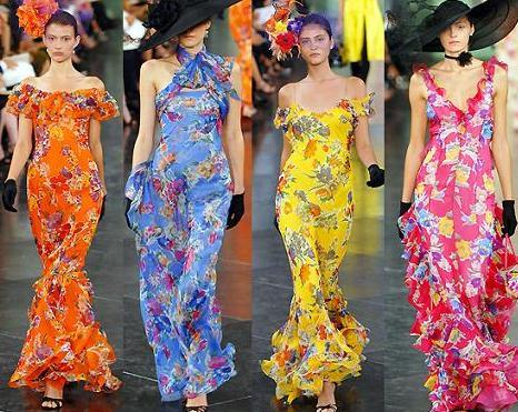 Roupas com Estampa Floral na Moda Verão 2012 5 Roupas com Estampa Floral na Moda Verão 2012