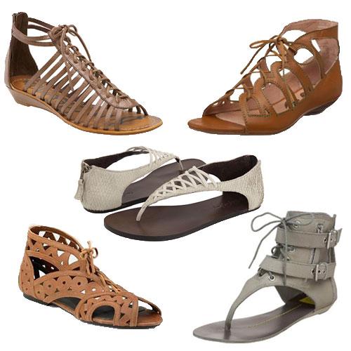 Sandálias e Sapatos com Cadarços e Amarrações 10 Sandálias e Sapatos com Cadarços e Amarrações
