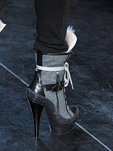 Tendências de Sapatos para o Inverno 2012 55 Tendências de Sapatos para o Inverno 2012