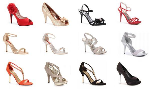 Sandálias e Sapatos para o Réveillon 2012 2 Sandálias e Sapatos para o Réveillon 2012
