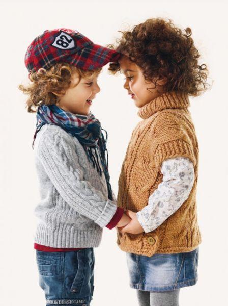Coleção Infantil de Inverno Benetton 44 Coleção Infantil de Inverno Benetton