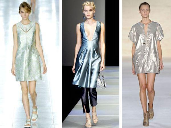 Tecidos Metalizados para o Inverno 2012 6 Tecidos Metalizados para o Inverno 2012