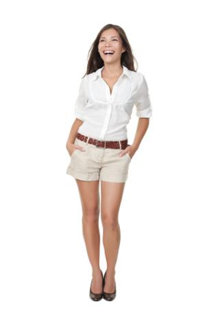 Modelos de Shorts que Combinam com Seu Corpo 6 Modelos de Shorts que Combinam com Seu Corpo
