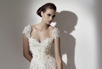 Modelos de Vestidos de Noivas com Decote