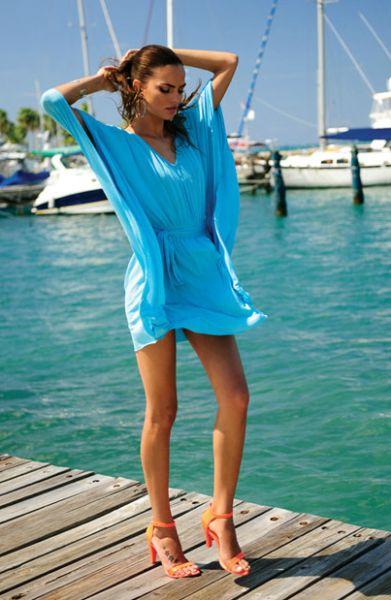 Modelos de Vestidos para Usar na Praia 1 Modelos de Vestidos para Usar na Praia