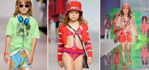 Tendências de Moda Infantil Verão 2012 2013