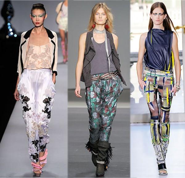 Modelos de Calças Estampadas para o Verão 2013 2 Modelos de Calças Estampadas para o Verão 2013
