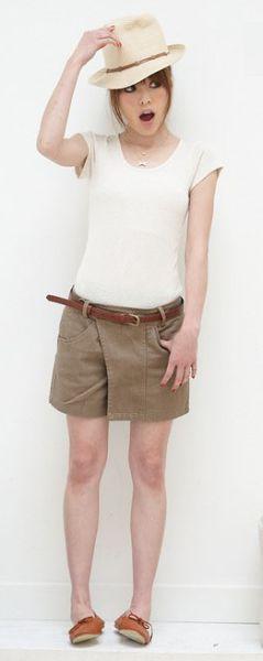 Modelos de Short Saia da Moda 66 Modelos de Short Saia da Moda