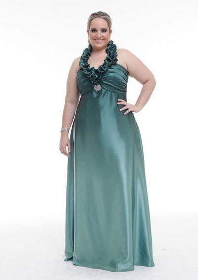Modelos de Vestidos de Formatura para Gordinhas 2012 3 Modelos de Vestidos de Formatura para Gordinhas 2012