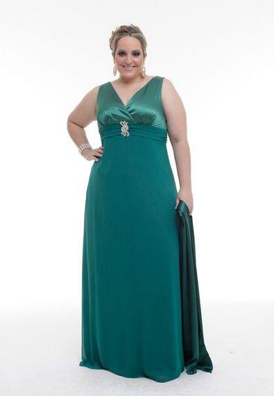 Modelos de Vestidos de Formatura para Gordinhas 2012 4 Modelos de Vestidos de Formatura para Gordinhas 2012