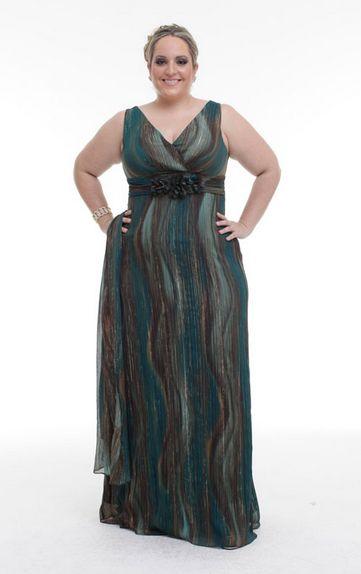 Modelos de Vestidos de Formatura para Gordinhas 2012 5 Modelos de Vestidos de Formatura para Gordinhas 2012