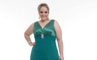 Modelos de Vestidos de Formatura para Gordinhas 2012