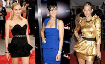 Conheça a Moda Peplum Dress