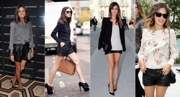 Fotos e Modelos de Shorts de Couro 111 Fotos e Modelos de Shorts de Couro