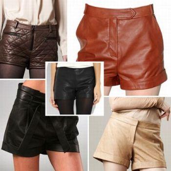 Fotos e Modelos de Shorts de Couro 55 Fotos e Modelos de Shorts de Couro