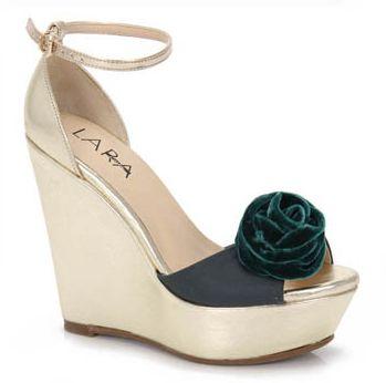Modelos de Sapatos Anabela 2012 16 Modelos de Sapatos Anabela 2012