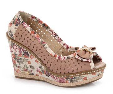 Modelos de Sapatos Anabela 2012 9 Modelos de Sapatos Anabela 2012
