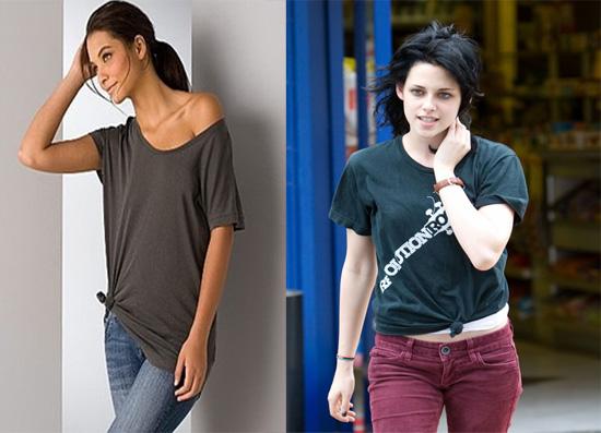 Como Usar a Moda de Nó na Camiseta 2 Como Usar a Moda de Nó na Camiseta