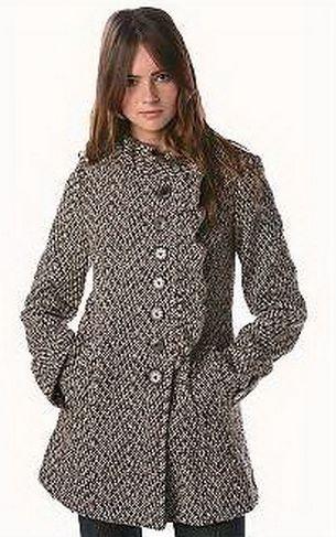 Modelos de Casacos de Tweed 01 Modelos de Casacos de Tweed