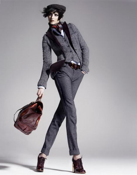Modelos de Casacos de Tweed 33 Modelos de Casacos de Tweed