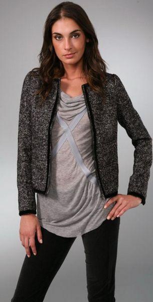 Modelos de Casacos de Tweed 66 Modelos de Casacos de Tweed