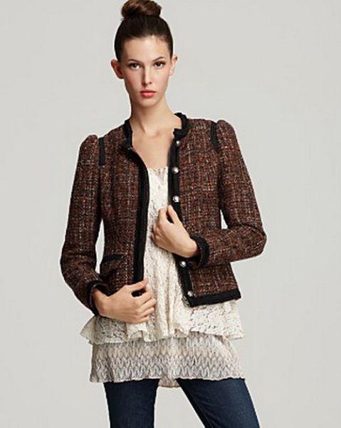 Modelos de Casacos de Tweed 99 Modelos de Casacos de Tweed
