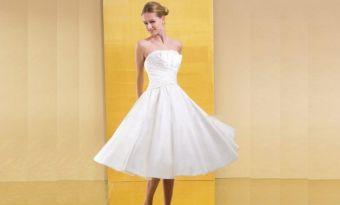 Modelos de Vestidos Mídi para Noivas