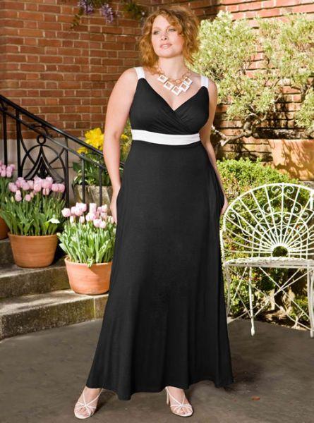 Vestidos Longos para Gordinhas 111 Vestidos Longos para Gordinhas