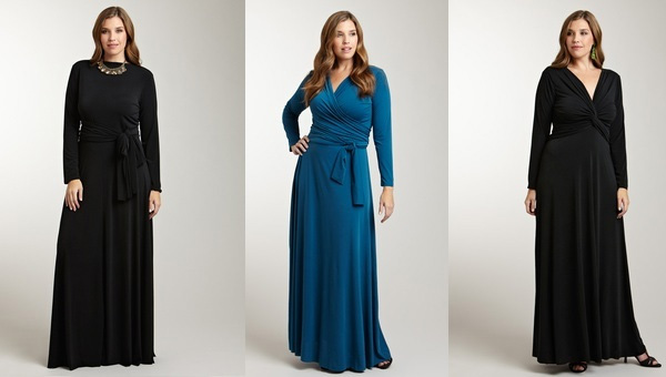 Конечно, следует подчеркивать большую грудь фасоном платья, однако
