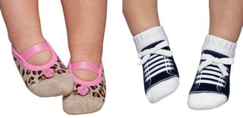 Modelos de Meias Sapatilhas para Bebês 9 Modelos de Meias Sapatilhas para Bebês