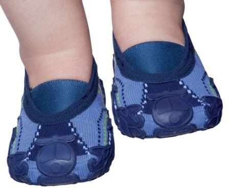 Modelos de Sapatilha Meia para Bebês 2 Modelos de Meias Sapatilhas para Bebês