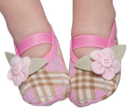 Sapatilha Meia para Bebês 6 Modelos de Meias Sapatilhas para Bebês