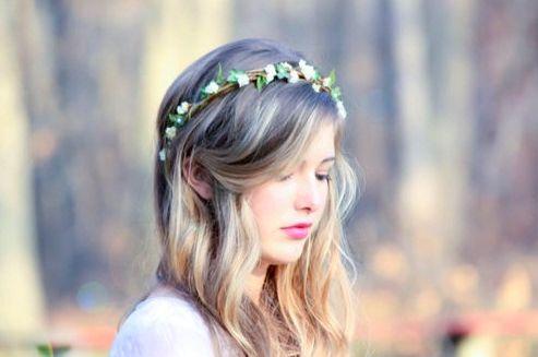 Coroa de Flores para Cabelo 9 Como Fazer Coroa de Flores para Cabelo