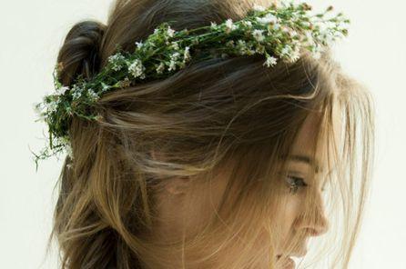 Passo a Passo para Fazer Coroa de Flores para Cabelo 9 Como Fazer Coroa de Flores para Cabelo