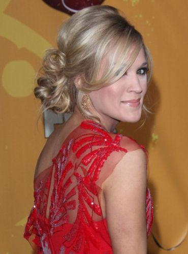 Carrie underwood hairstyles half up