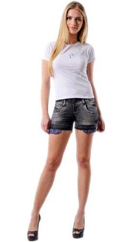 Modelos de Shorts Jeans Verão 2013 8 Modelos de Shorts Jeans Verão 2013