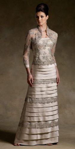 Modelos de Vestidos Sociais para a Mãe da Noiva 8 Modelos de Vestidos Sociais para a Mãe da Noiva