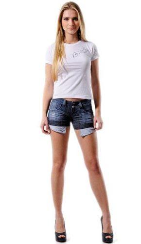 Shorts Jeans Verão 2013 9 Modelos de Shorts Jeans Verão 2013