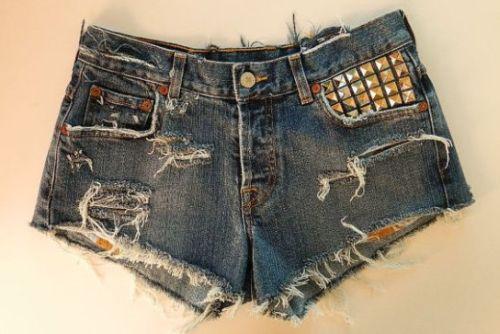Tendências de Shorts Jeans Verão 2013 9 Modelos de Shorts Jeans Verão 2013