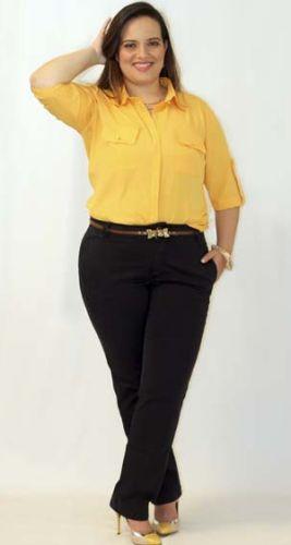 Camisa social para Gordinhas http://www.cantinhojutavares.com